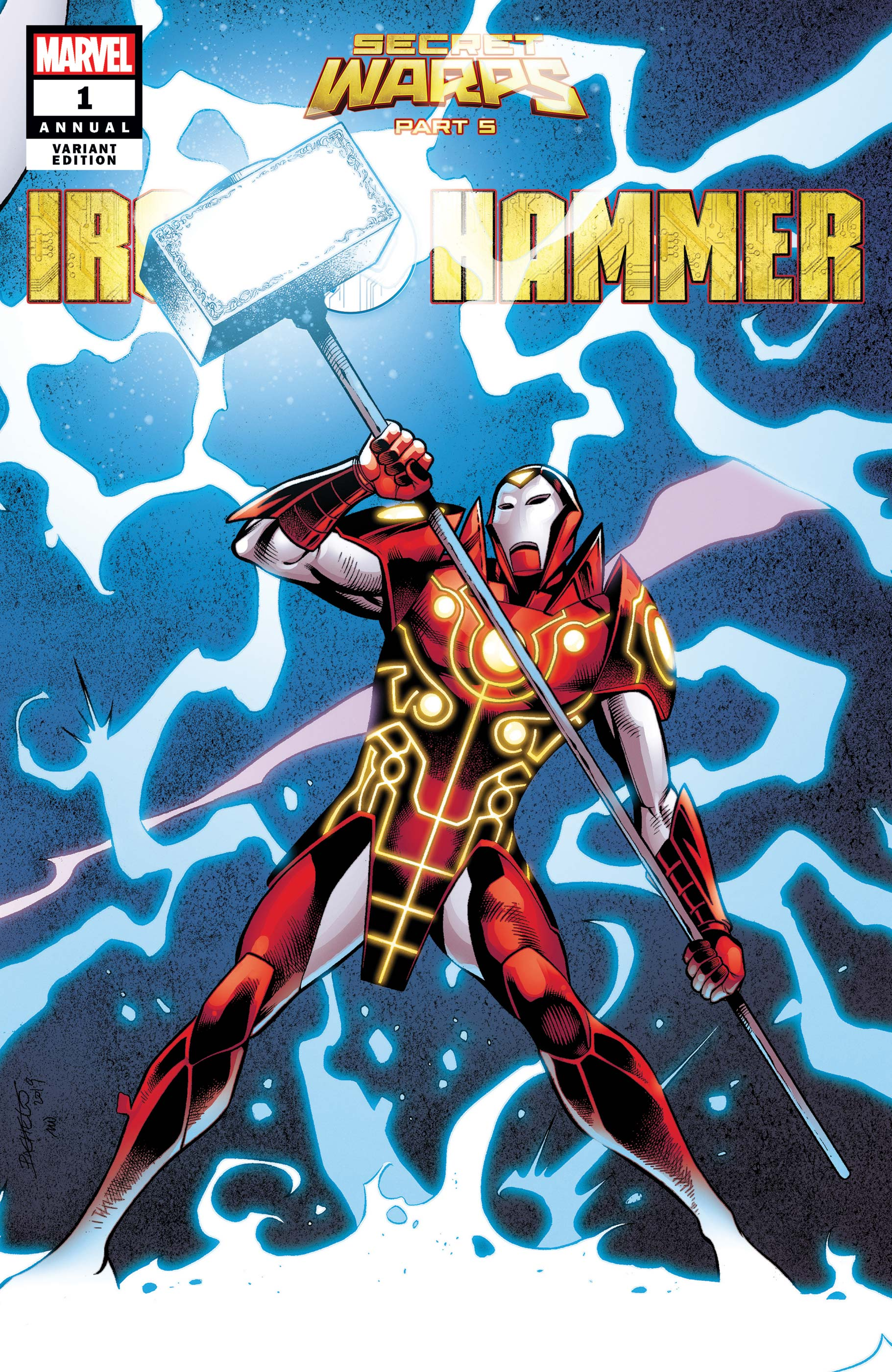 Secret Warps: Iron Hammer Annual (2019) #1 (Variant)