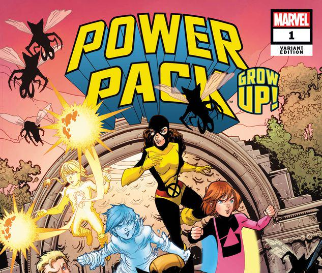 POWER PACK: GROW UP! 1 LUBERA VARIANT #1