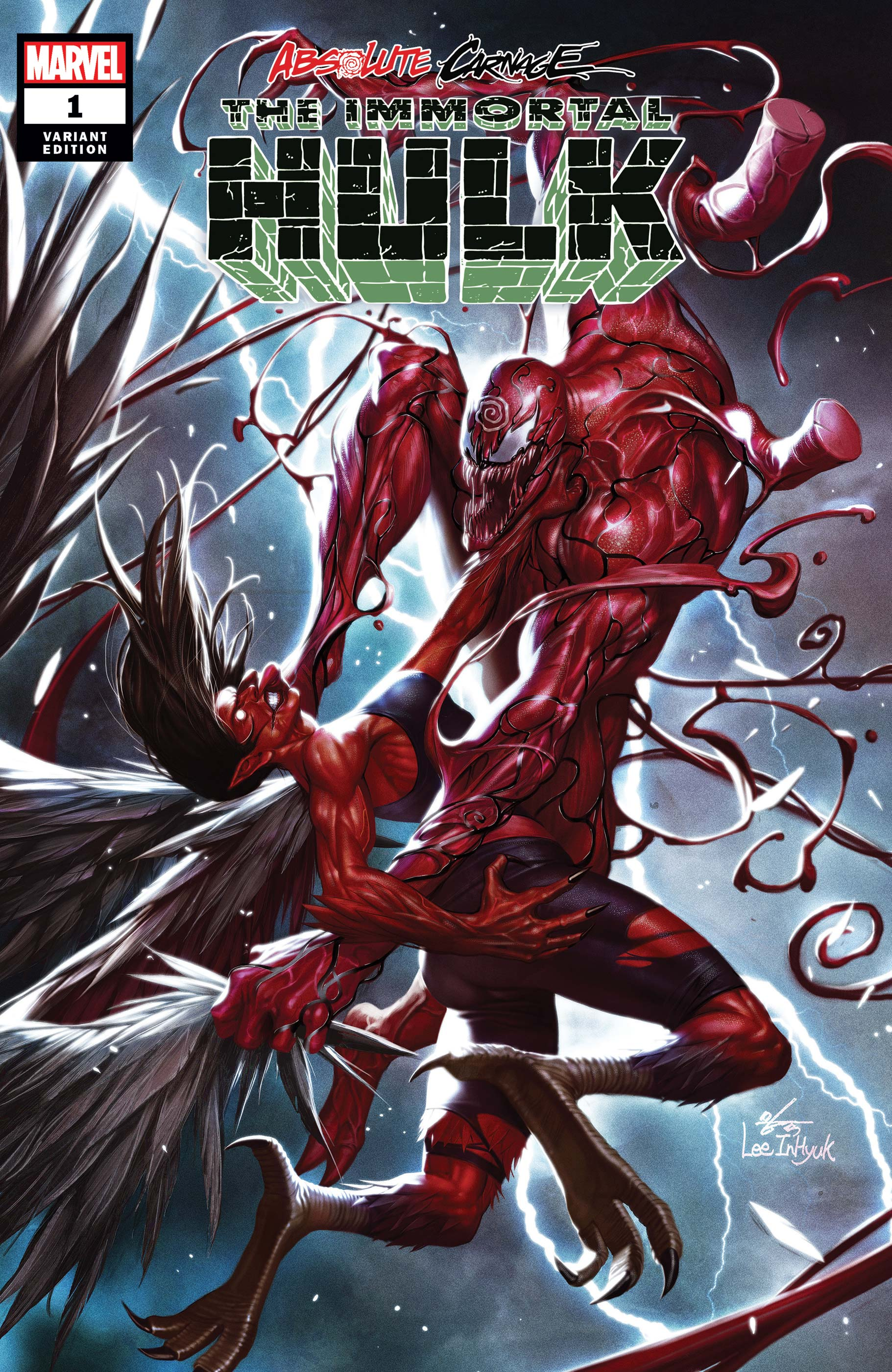 Absolute Carnage: Immortal Hulk (2019) #1 (Variant)