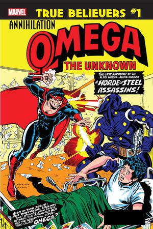 True Believers: Annihilation - Omega The Unknown #1