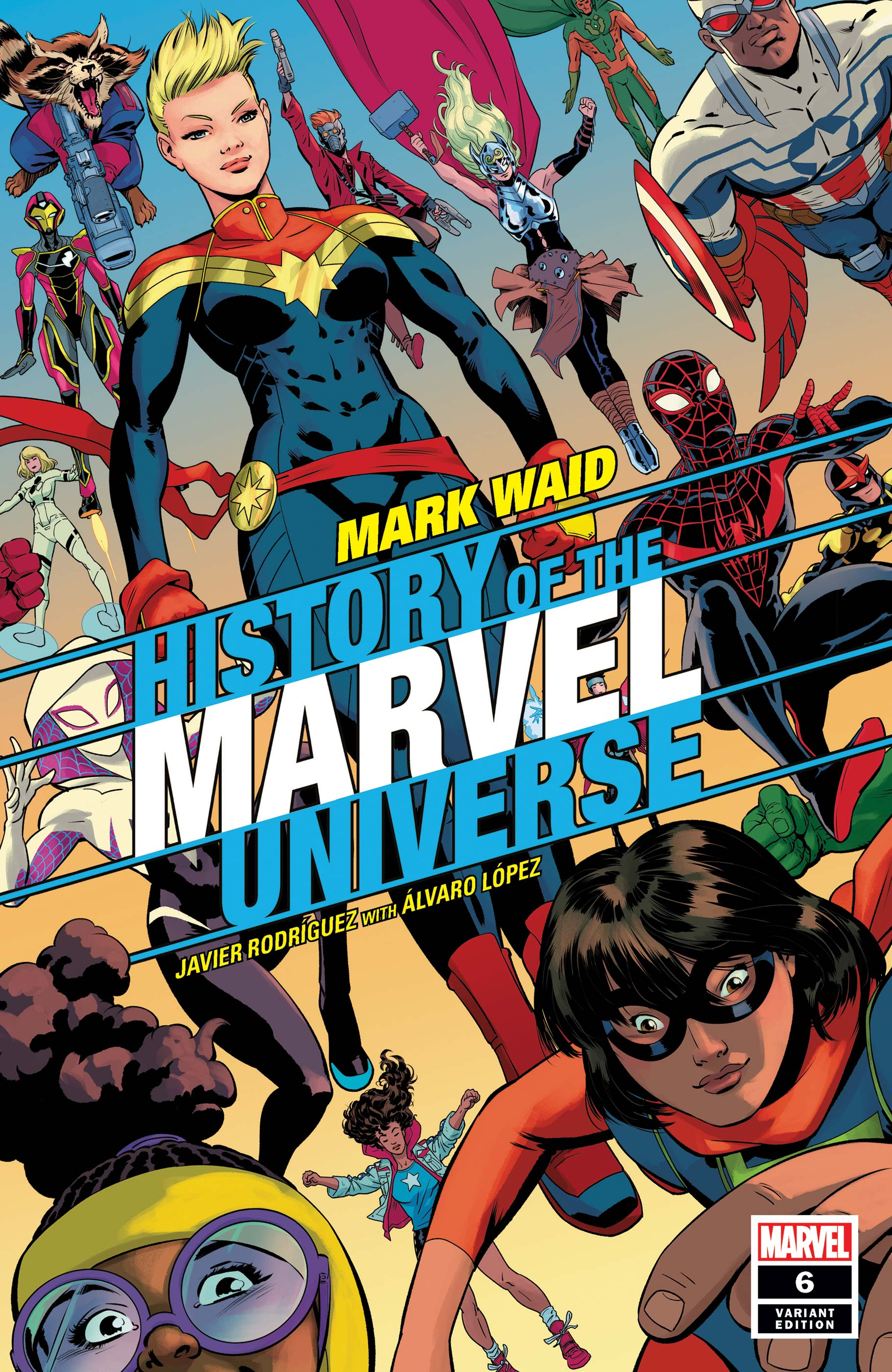 History of the Marvel Universe (2019) #6 (Variant)
