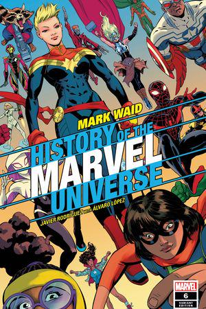 History of the Marvel Universe #6  (Variant)