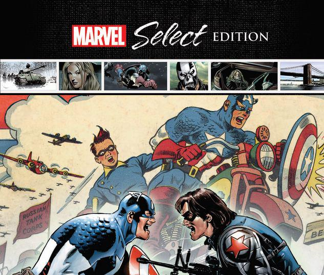 CAPTAIN AMERICA: WINTER SOLDIER MARVEL SELECT HC #1