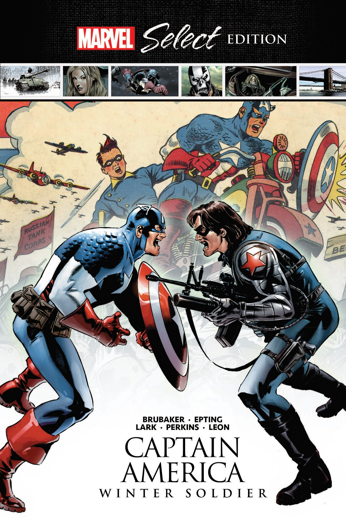 Captain America: Winter Soldier Marvel Select (Hardcover)