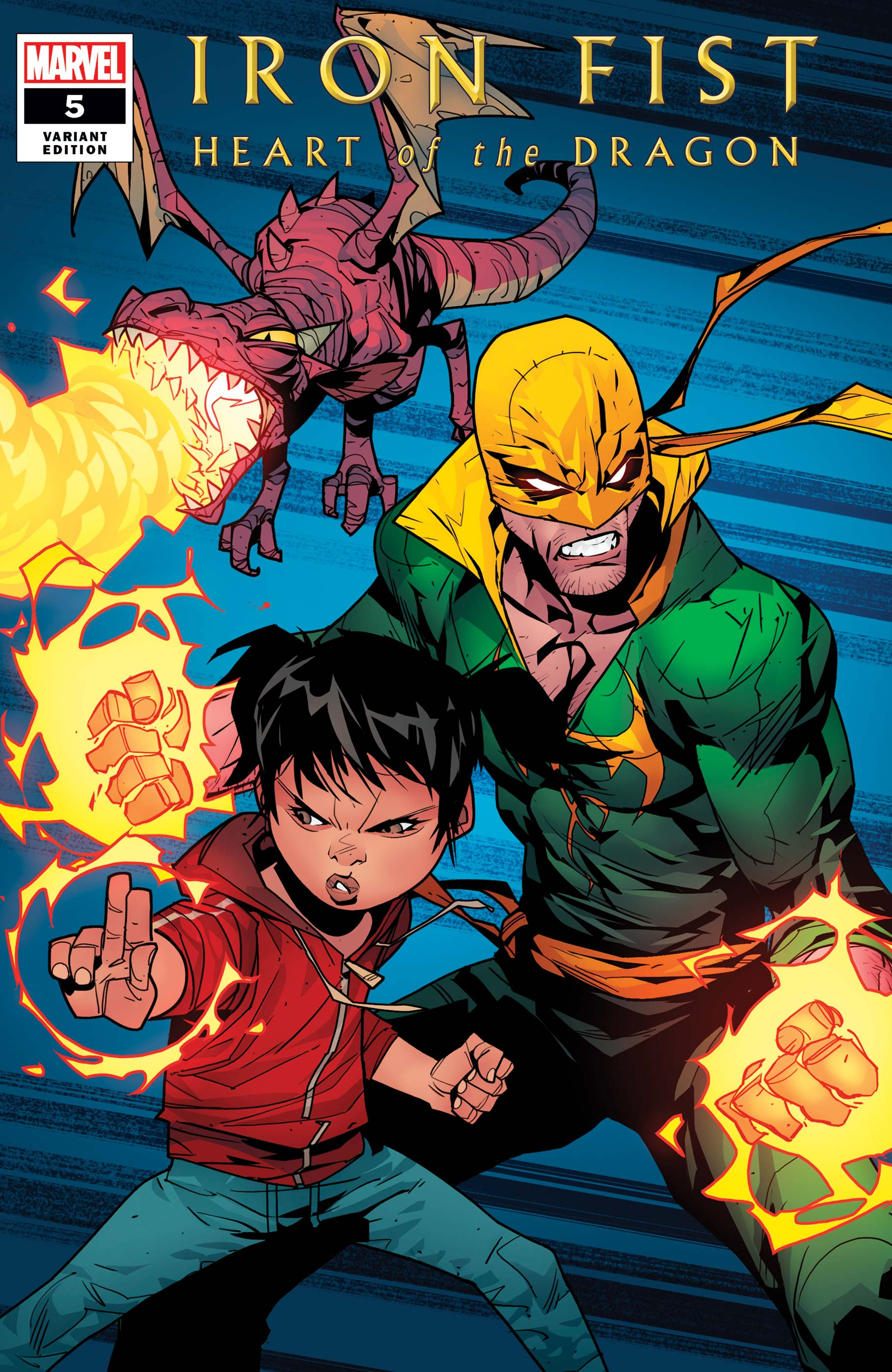Iron Fist: Heart of the Dragon (2021) #5 (Variant)