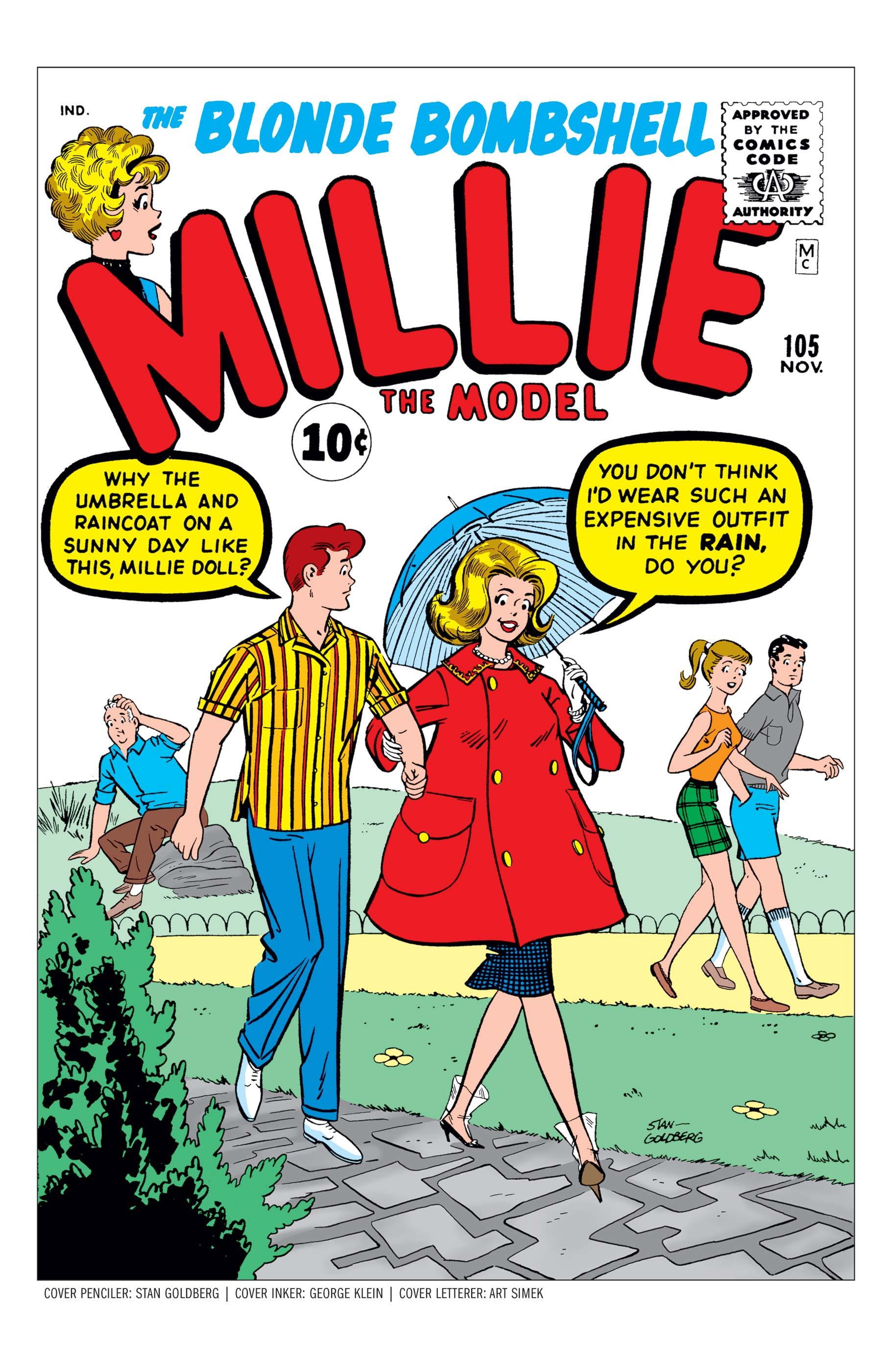 Millie the Model (1945) #105