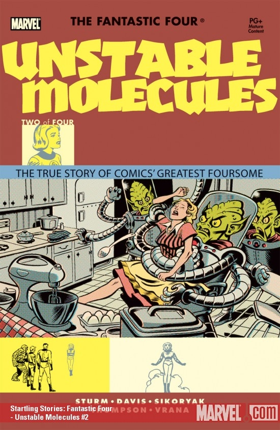 Startling Stories: Fantastic Four - Unstable Molecules (2003) #2