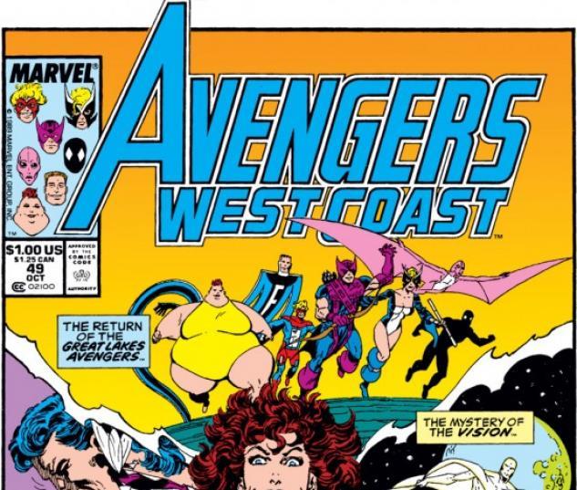 Avengers West Coast #49