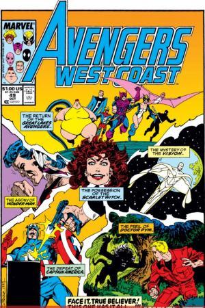 West Coast Avengers #49