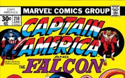 CAPTAIN AMERICA #210 COVER