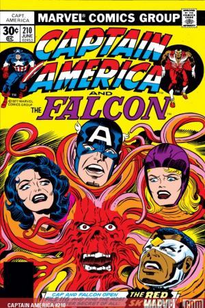 Captain America #210