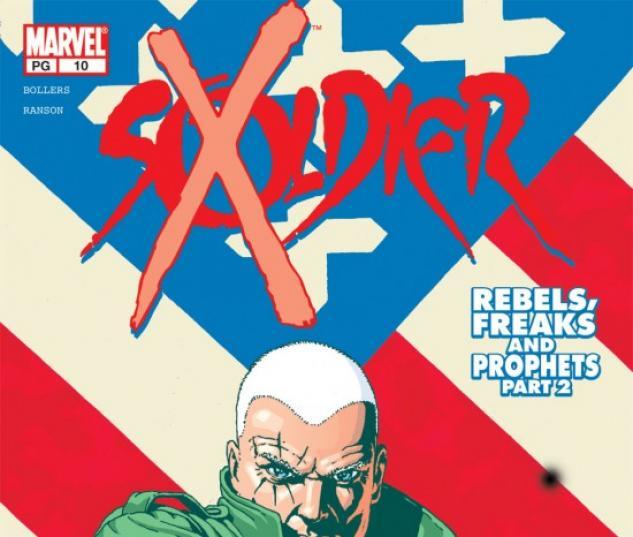 Soldier X #10