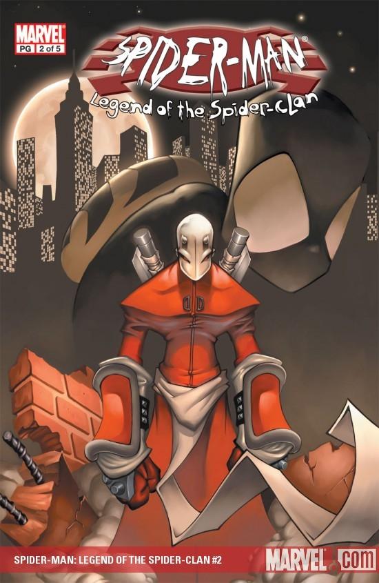 Spider-Man: Legend of Spider Clan (2002) #2