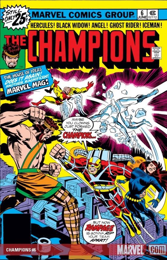 Champions (1975) #6