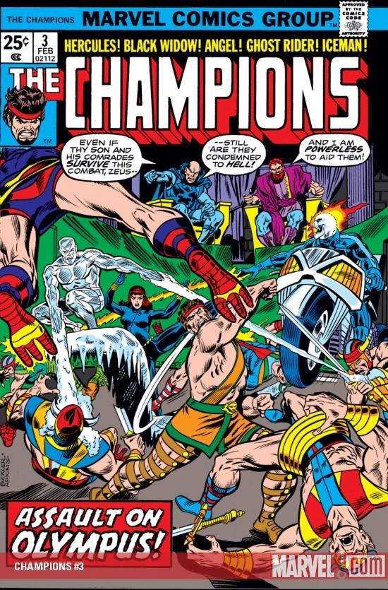 Champions (1975) #3