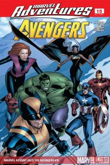 Marvel Adventures the Avengers (2006) #15