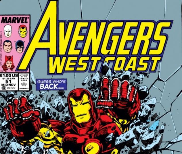 West Coast Avengers (1985) #51
