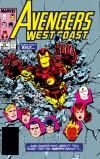 Avengers West Coast (1985) #51