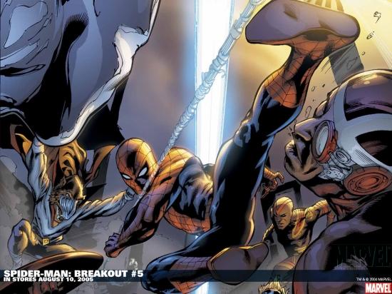 Spider-Man: Breakout (2005) #5 Wallpaper