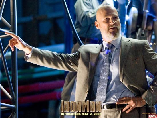 Iron Man Movie: Obadiah Stane #1