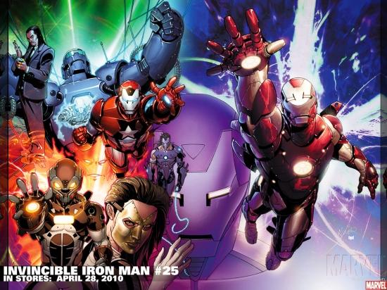 Invincible Iron Man (2008) #25 Wallpaper