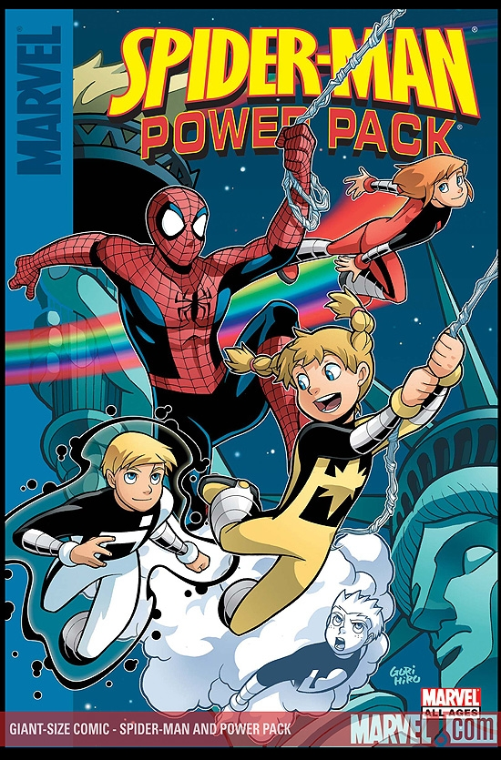 Spider-Man and Power Pack (2007) #1 (Giant Size Comic)