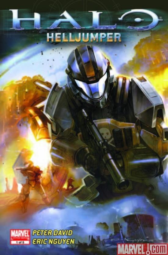 Halo: Helljumper (2009) #1