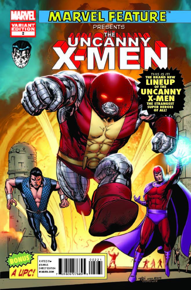 Uncanny X-Men (2011) #2 (Mc 50th Anniversary Variant)