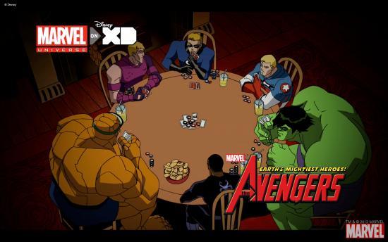 The Avengers: Earth's Mightiest Heroes! Wallpaper #3