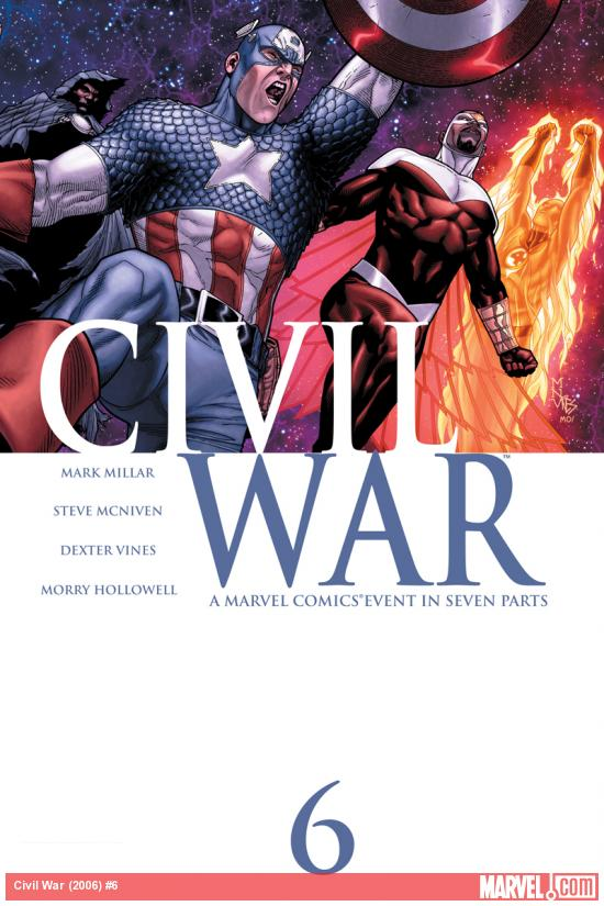 Civil War (2006) #6