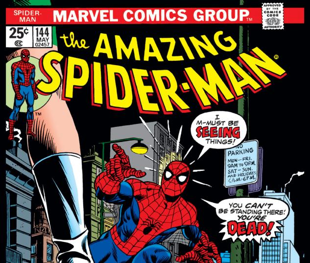 Amazing Spider-Man (1963) #144 Cover
