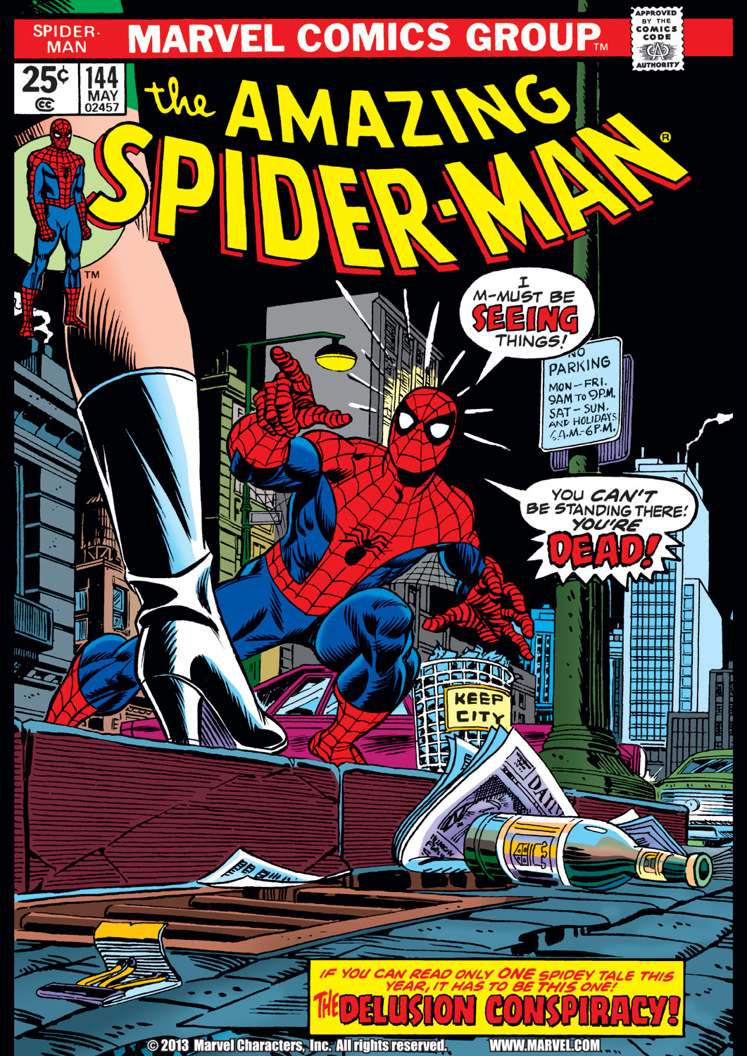The Amazing Spider-Man (1963) #144