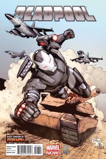 Deadpool (2012) #7 (Tan Iron Man Many Armors Variant)