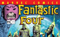 Fantastic Four (1998) #46 Cover