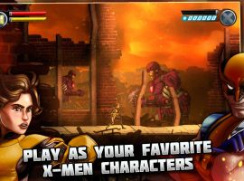 Play as your favorite heroes, including Kitty Pryde and Wolverine, in Uncanny X-Men: Days of Future Past