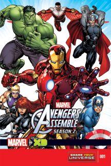 Marvel Universe Avengers Assemble Season Two (2014) #1