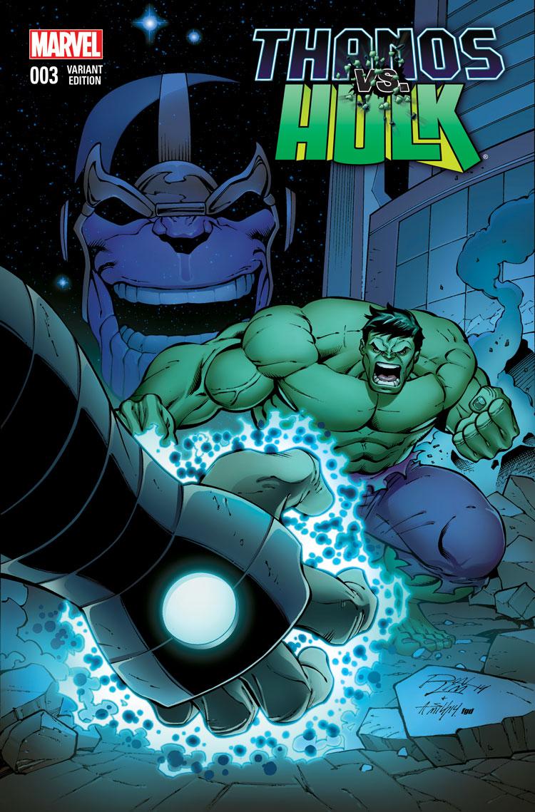 Thanos Vs. Hulk (2014) #3 (Lim Variant)