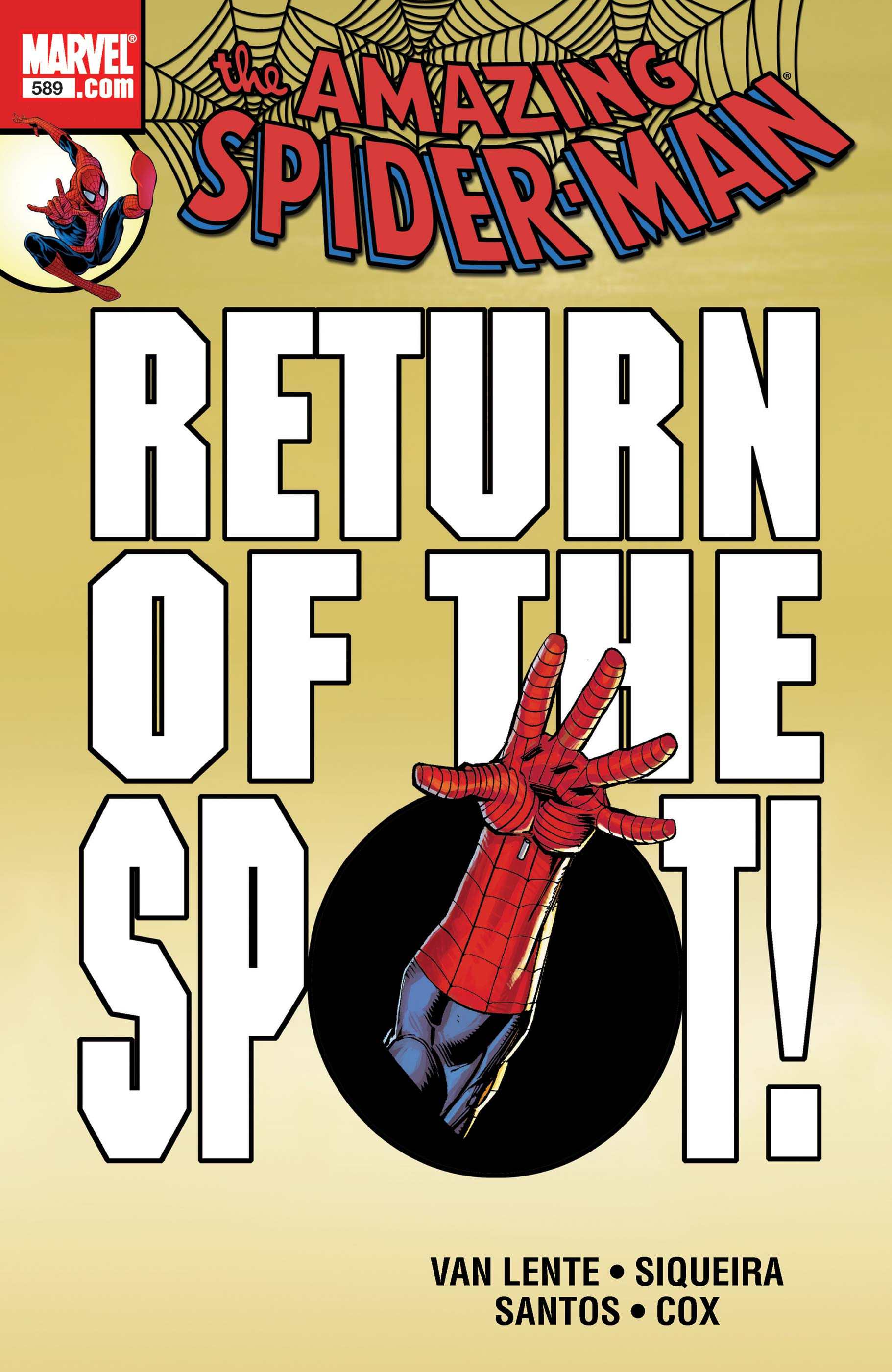Amazing Spider-Man (1999) #589