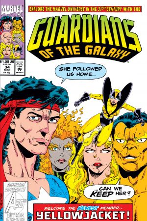 Guardians of the Galaxy (1990) #34
