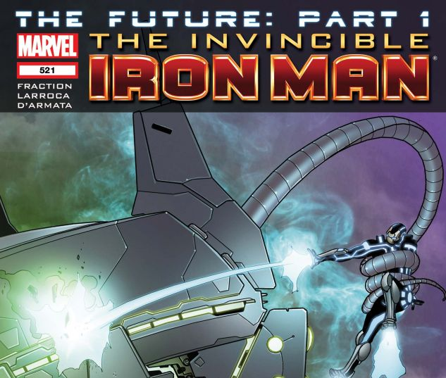 Invincible Iron Man (2008) #521