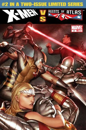 X-Men Vs. Agents of Atlas #2