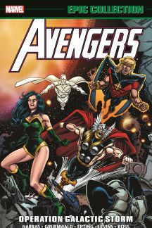 Avengers Epic Collection: Operation Galactic Storm (Trade Paperback)