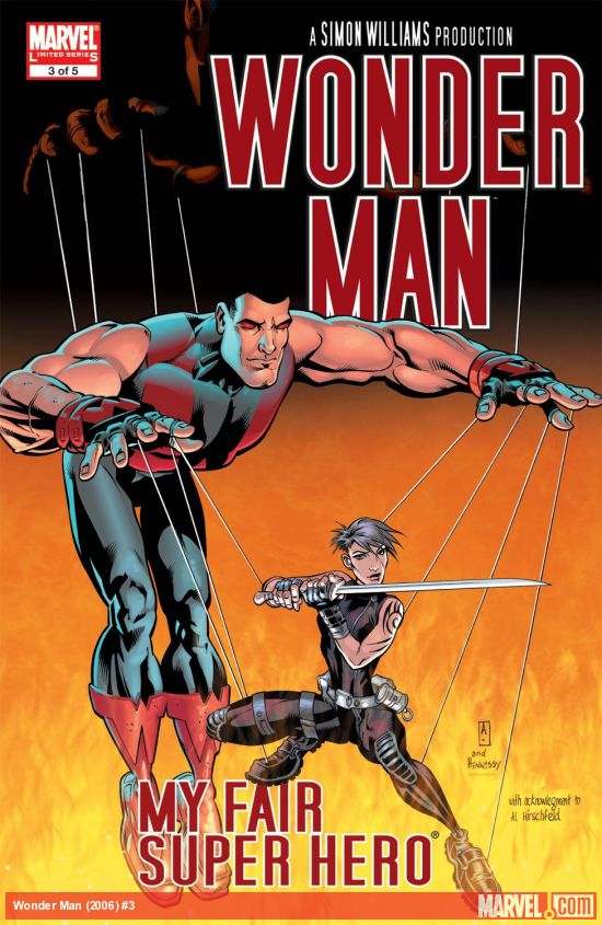 Wonder Man (2006) #3