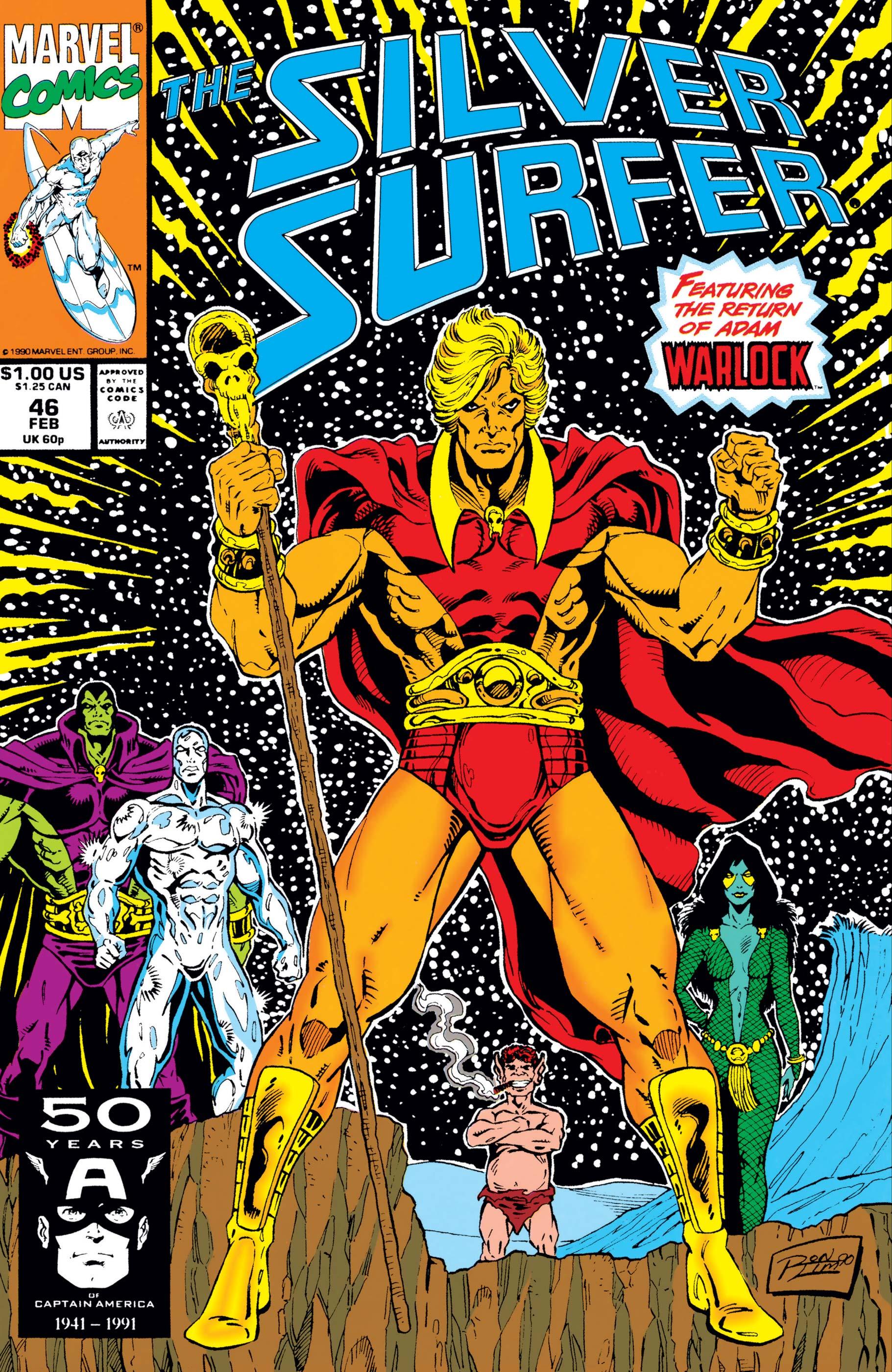 Silver Surfer (1987) #46