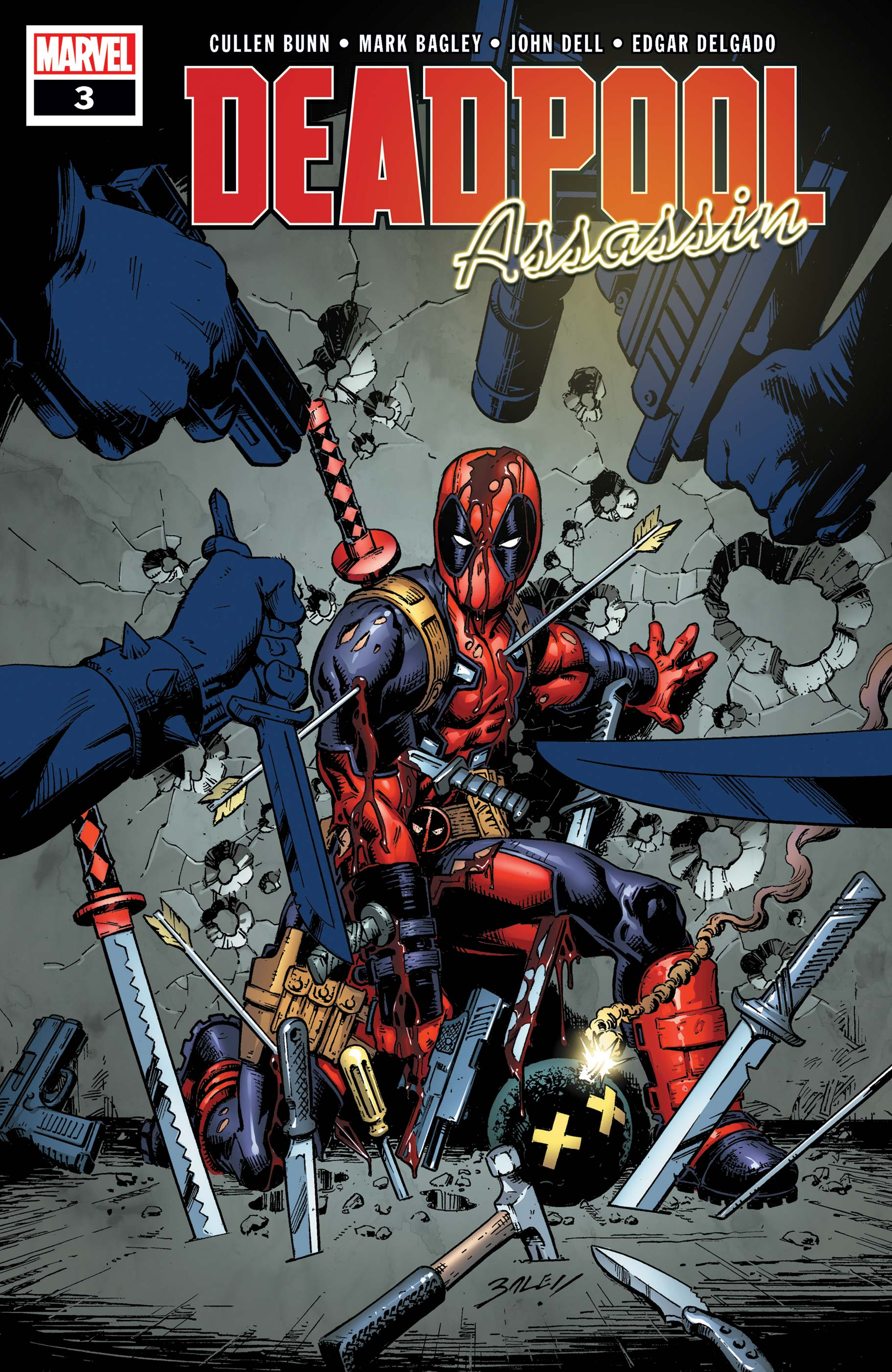 Deadpool: Assassin (2018) #3