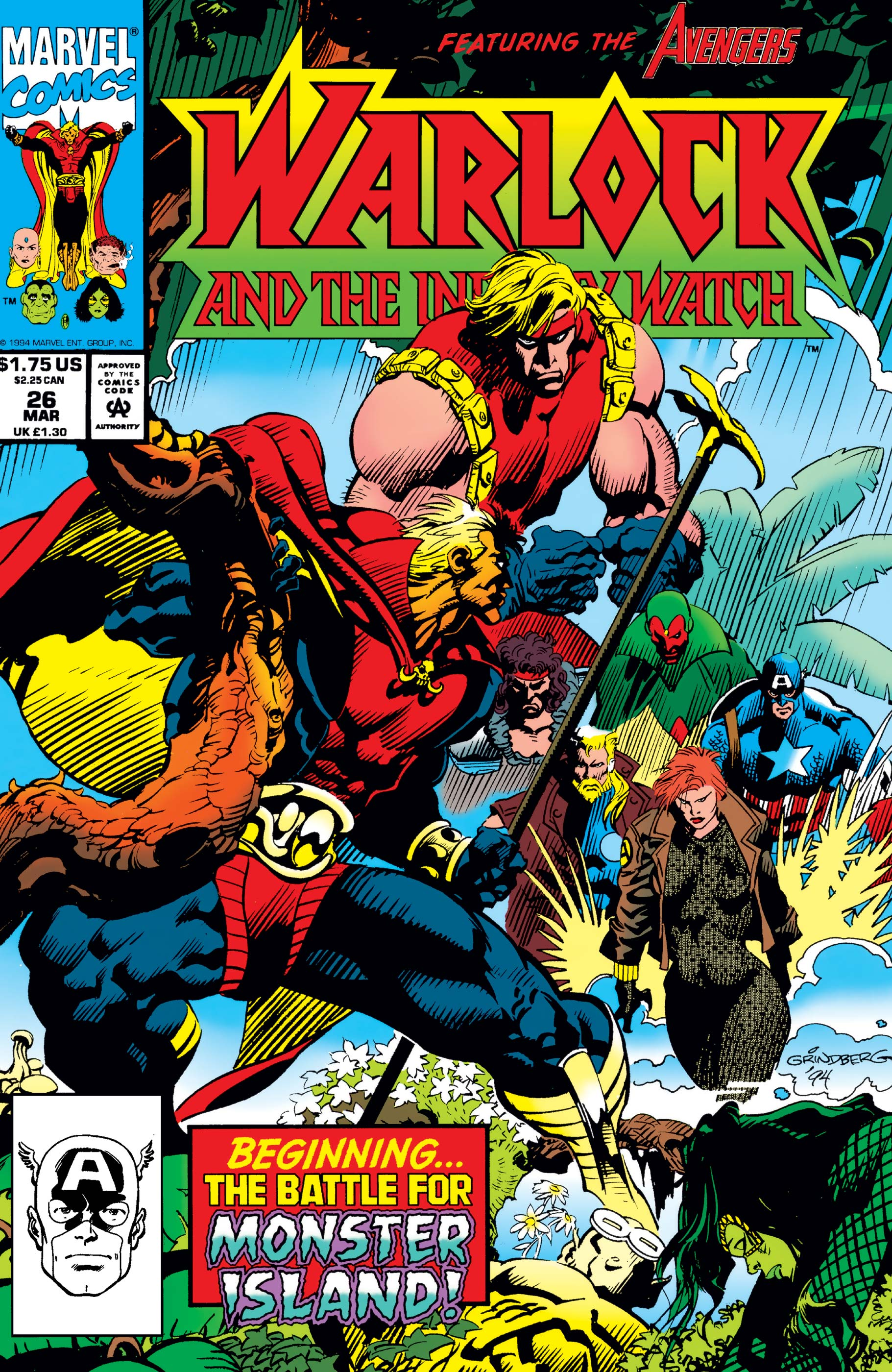 Warlock and the Infinity Watch (1992) #26