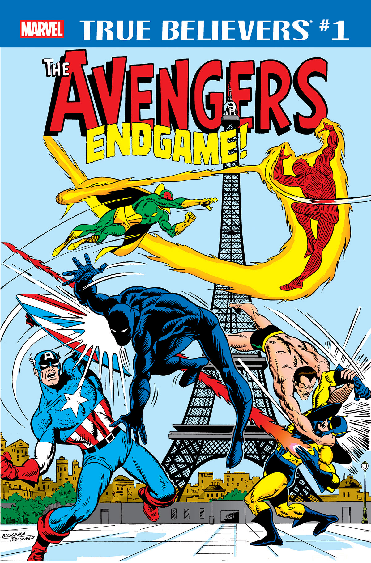 True Believers: Avengers - Endgame! (2019) #1