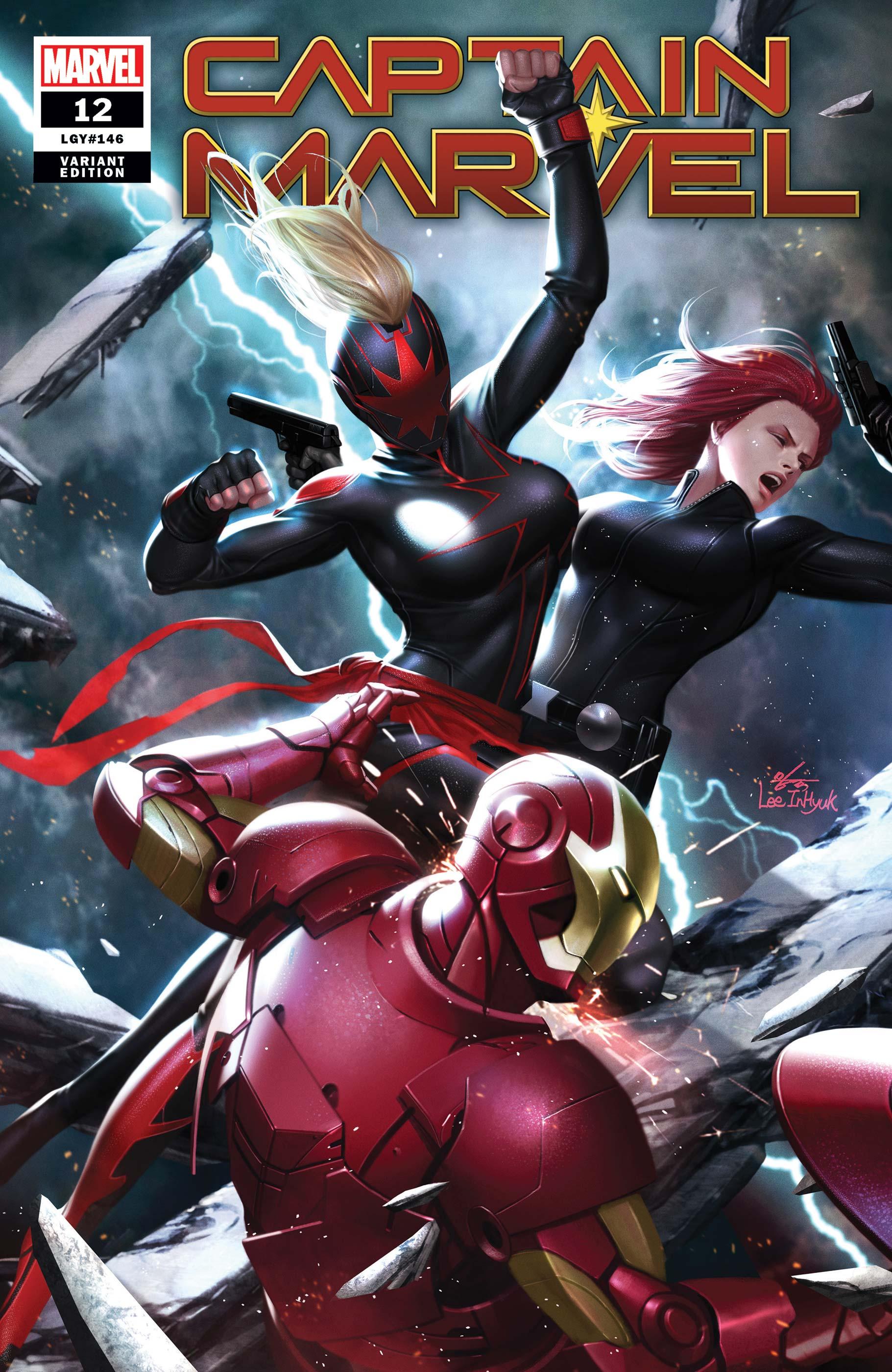 Captain Marvel (2019) #12 (Variant)