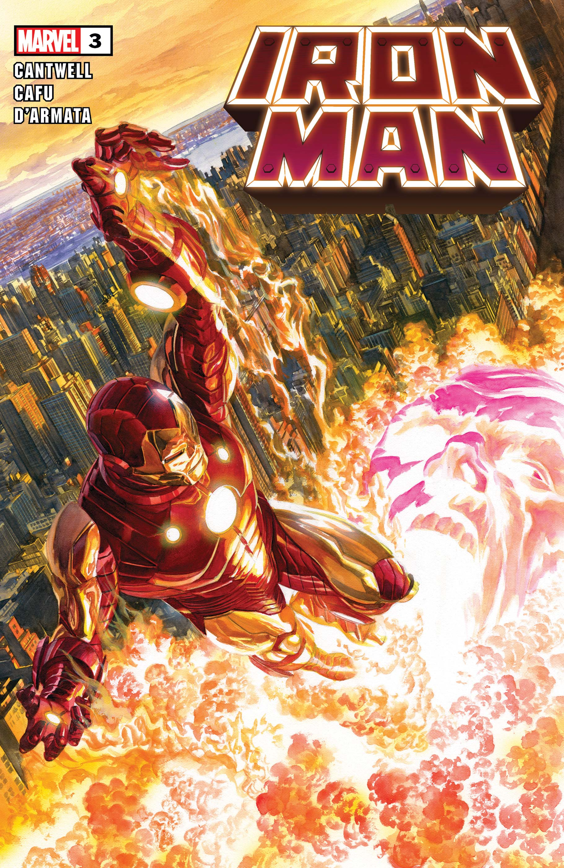 Iron Man 2020 3 Comic Issues Marvel