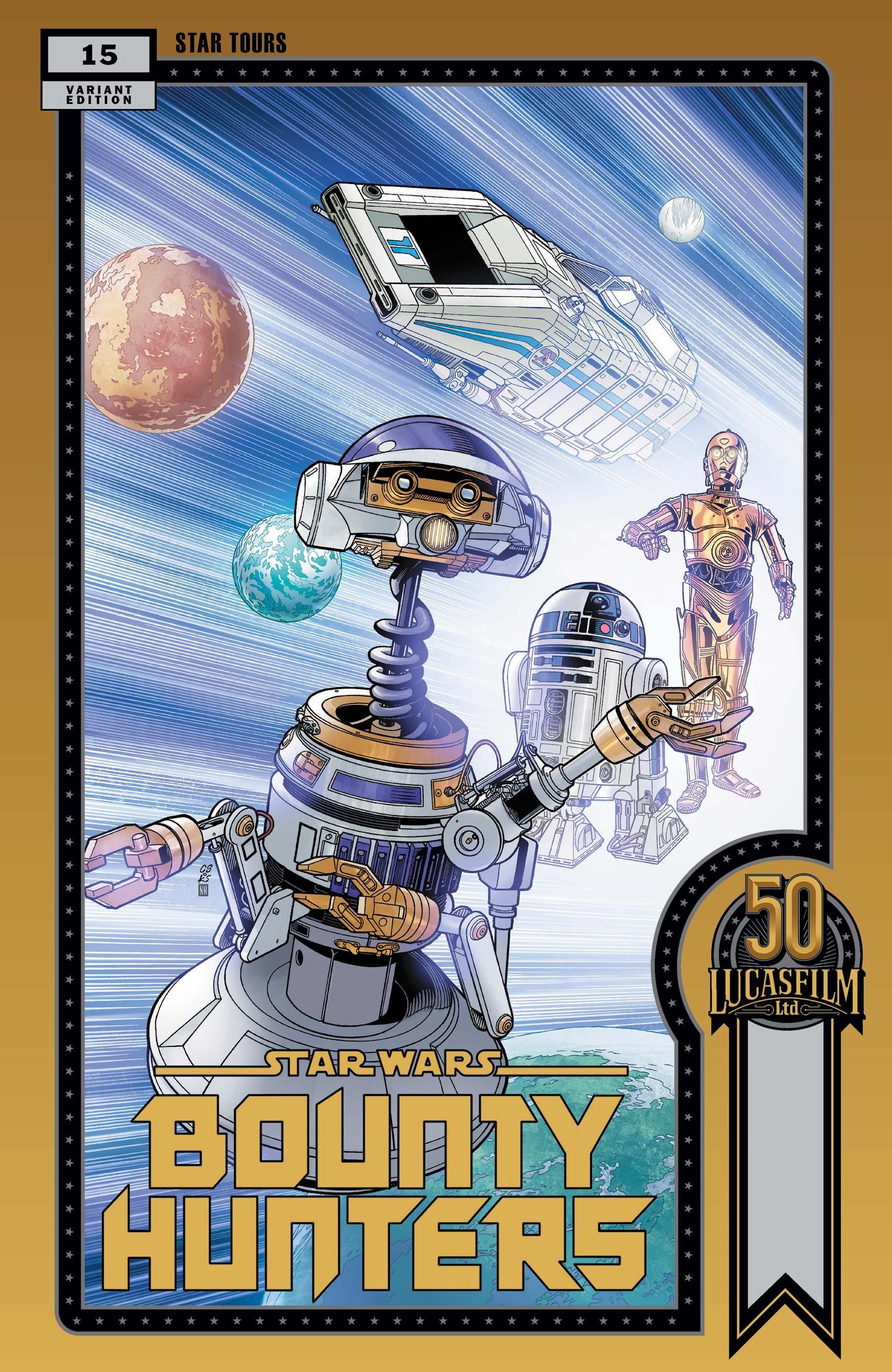 Star Wars: Bounty Hunters (2020) #15 (Variant)